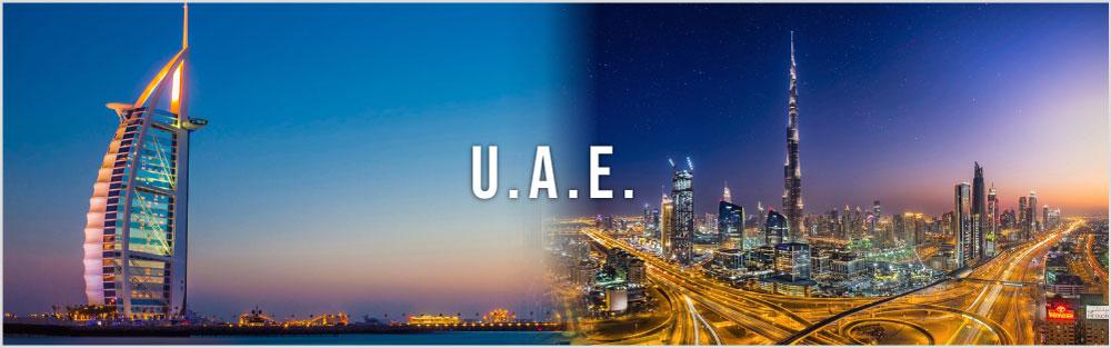 United Arab Emirates Dubai Website Banner