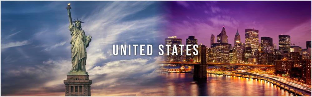 USA website banner