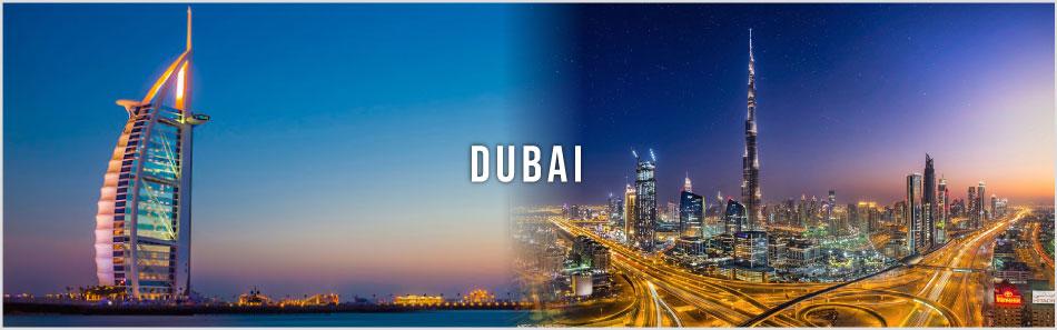 Dubai website banner
