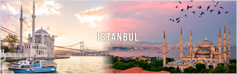 Istanbul city website banner