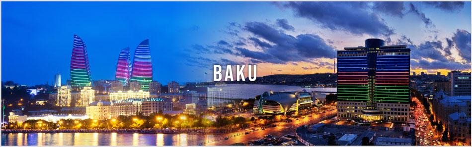 Baku website banner