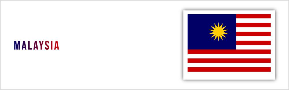 Malaysia Flag website banner