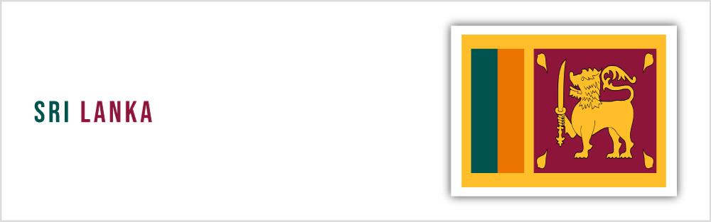 Sri Lanka flag website banner