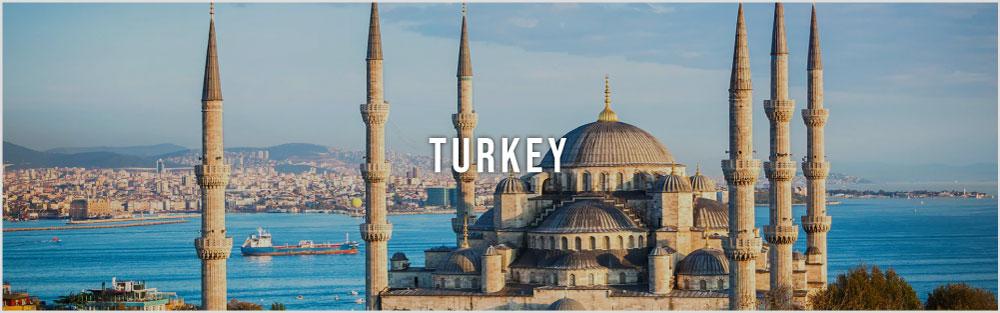 Turkey tour website image