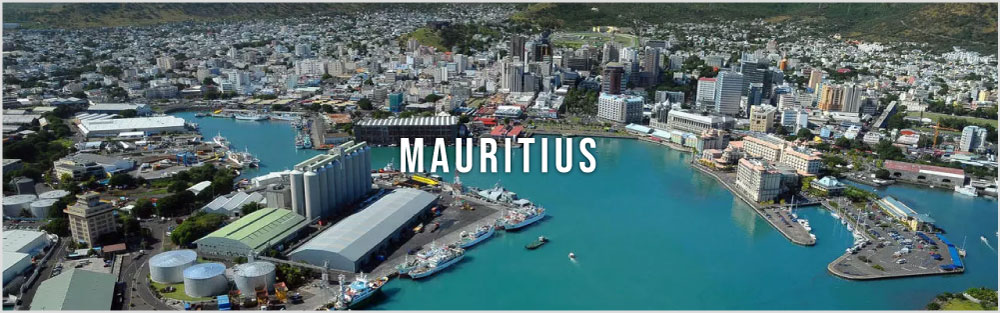 Mauritius tour package website banner