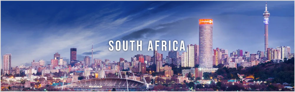 South Africa city website banner