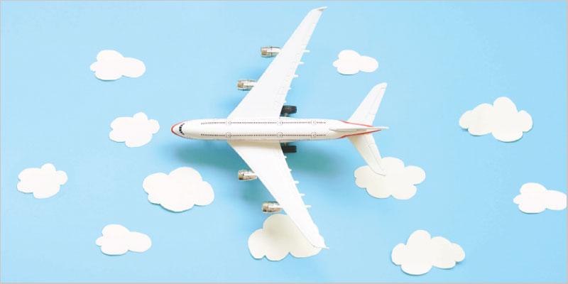 Airplane air travel