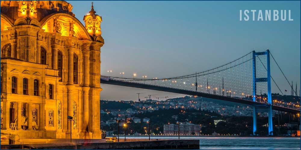 The beautiful Istanbul city