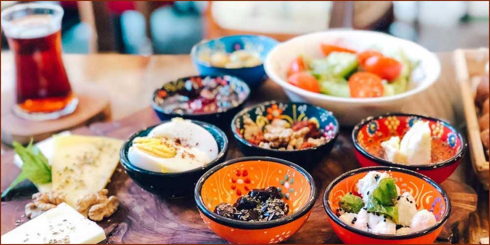 Turkish breakfast and Turkish cuisine